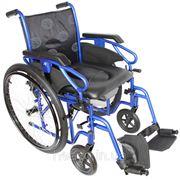 Инвалидная коляска OSD Millenium III с санитарным оснащением (Италия) фото
