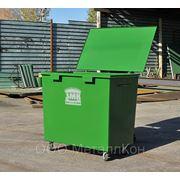 Крышка для мусорного контейнера 0,8м3 фото