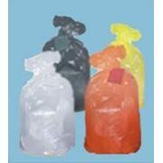 Пакеты п/э для сбора, хранения и утилизации медицинских отходов ЛПУ фото