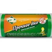 Пакети для мусора сверхпрочные 120л/25шт МЖ