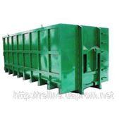 Контейнер для строительного мусора, крюковой 16-37 м.куб. фото