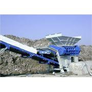 Установки для переработки строительных отходов, мусора, измельчения резины, древесины, стекла