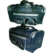 7447-Д-190/1 Дорожно-спортивная сумка серия «ГОРОДА» фото