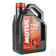 Масло для мототехники Motul Модель 20W50 4T 7100 4L фото