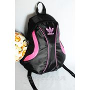Спортивный рюкзак Adidas R-1. (черный + розовый) фото
