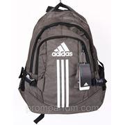 Рюкзак Adidas серый 16х42х30 BK702-703-20181gray /0-521