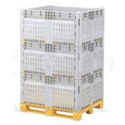 Разборные контейнеры Box pallet KitBin ZТ (перфорированный) фото