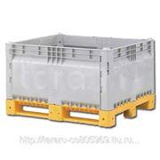 Разборные контейнеры Box pallet KitBin (сплошной) фото