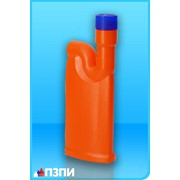Пластиковый флакон под средства для прочистки труб Ф42 фото