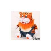 Мягкая игрушка Кот с сосисками фото