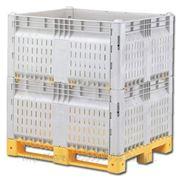 Разборные контейнеры Box pallet KitBin ХТ (перфорированный) фото