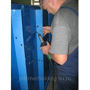 Листовой полипропилен 5 мм 2000х4000 цвет синий фото