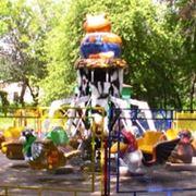 Детская карусель с подьемом кабинок «Таити»
