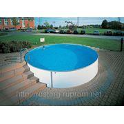 Круглый сборный бассейн FUTURE POOL Германия, 4,5х1,5 м, Объем 23 м3. фото
