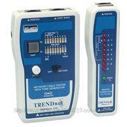 TRENDnet TC-NT2 Тестер-сканер профессиональный кабельный тестер со звуковым генератором UTP, BNC фото