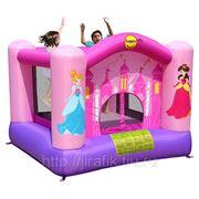 Happy Hop 9001P Надувной батут для девочек Принцесса