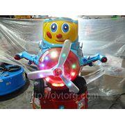 Аттракцион электромеханическая детская качалка ПИЛОТ фото