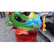 Аттракцион электромеханическая детская качалка Веселый Самолет фото