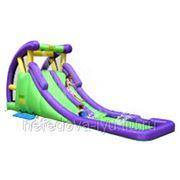 Надувная двойная горка с Водой Happy Hop Double Water Slide-Double The Fun 9029