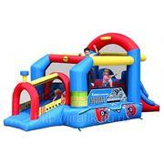 Happy Hop 9054N Игровой надувной центр Паравозик