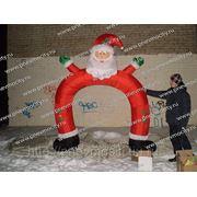 """Надувная арка """"Санта"""" фото"""