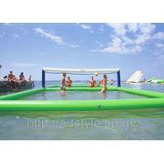 Водный волейбол фото