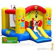 Happy Hop 9201 Батут надувной с горкой Клоун фото