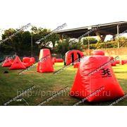 Пневмофигуры: надувные поля для пейнтбола фото