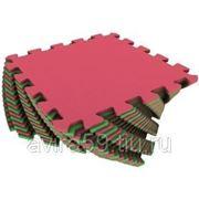 Универсальный коврик красно-зеленый фото