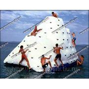 Надувной водный аттракцион айсберг