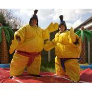 Надувное сумо фото