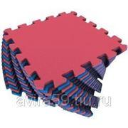 Универсальный коврик красно-синий фото