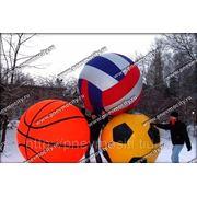 Аттракцион большие (огромные) надувные мячи фото