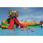 Надувной аквапарк Дракон фото