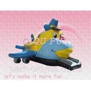 "Батут-бродилка ""Самолетик"" модель QQB025 6*4*4,5м"