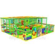 Детский игровой лабиринт. Мир Джунглей фото