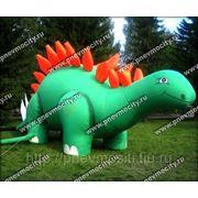 Надувная фигура. Форма: динозавр фото