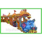 Детские поезда фото