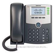 Linksys SPA504G Телефон VoiceIP 4xLine, 2xLan 10/100, LCD, PoE, без бп