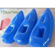 Надувные водные лыжи/ цвет голубой + насос 500w за 150 $ в подарок! фото