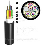 Волоконно-оптический кабель ОПт-24А4(4х6)-8,0кН фото