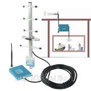 Ретранслятор сотового сигнала на 150 кв.м с ЖК дисплеем/Улучшитель сотовой связи/Репитер gsm сигнала фото