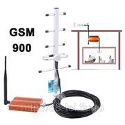 Усилитель связи GSM 900 с антенной на 70dB фото
