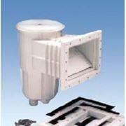 Скиммер для пленочного бассейна с декоративной рамкой А-055 (квадратная крышка)