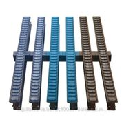 Модуль цветной решетки перелива из ABS-пластика 35/245 мм