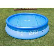 Тент обогревающий для бассейнов Solar Pool Cover Intex 457 см фото