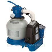 Песочный фильтр-насос 220В, для бассейна до 20 м3, 4,5 м3/ч