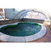 Бассейн Franmer Барселонет 4х2,5 м глубина 1,3 м, цвет Бланже (белый) фото