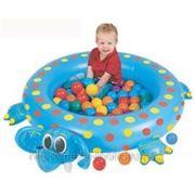 Upright Сухой бассейн (надувной) Слоненок+шары фото
