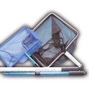 Прудовый сачок JBL 35х30 см крупноячеистый с телескоп. ручкой